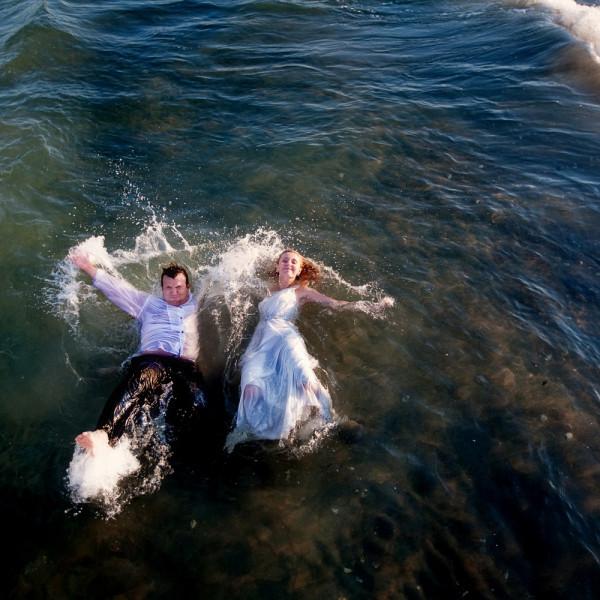 Sedinta foto dupa nunta - TTD la mare - Raluca si Adrian