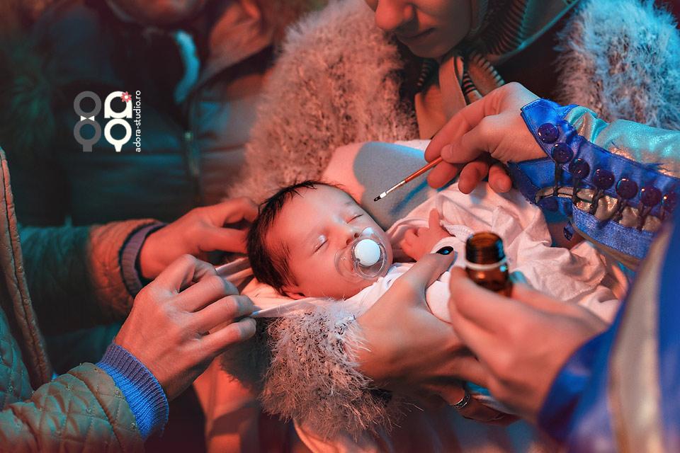 35 fotografi botez Tulcea