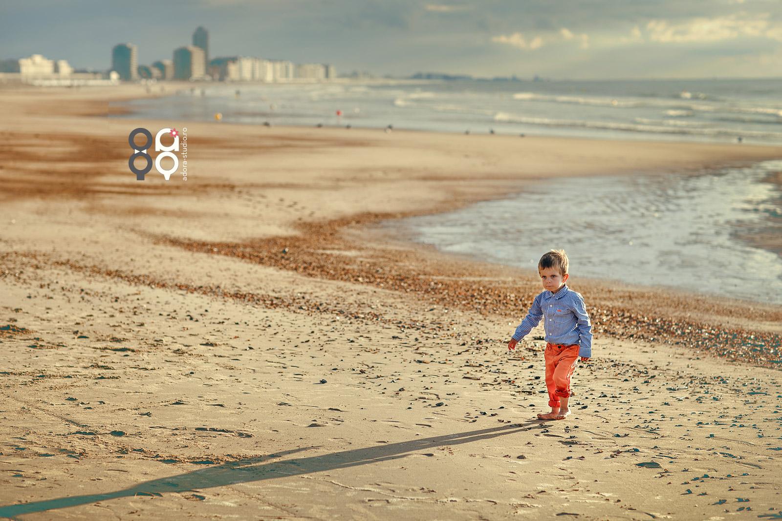 sedinta foto la plaja