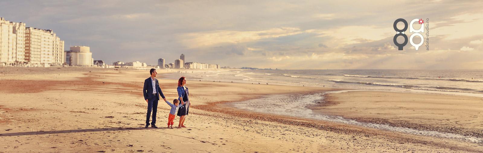sesiune foto la marea nordului