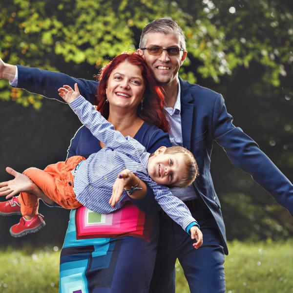 Fotografiile familiei Luca