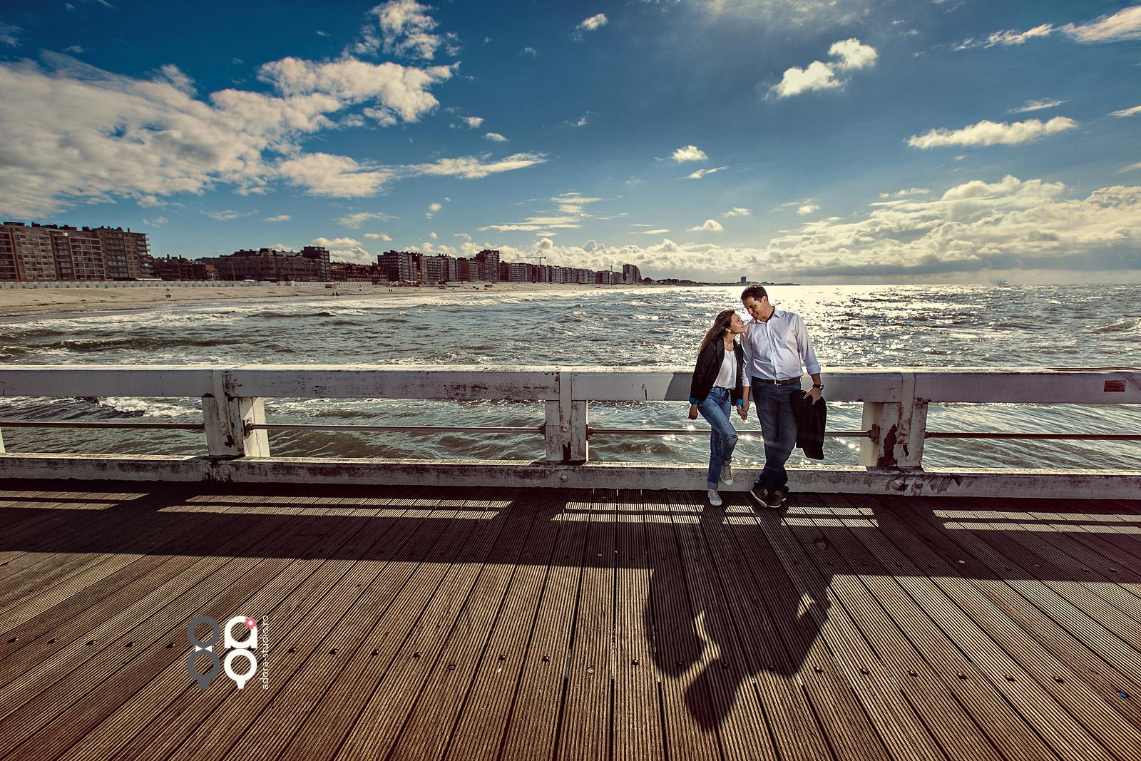 sesiune foto engagement la mare