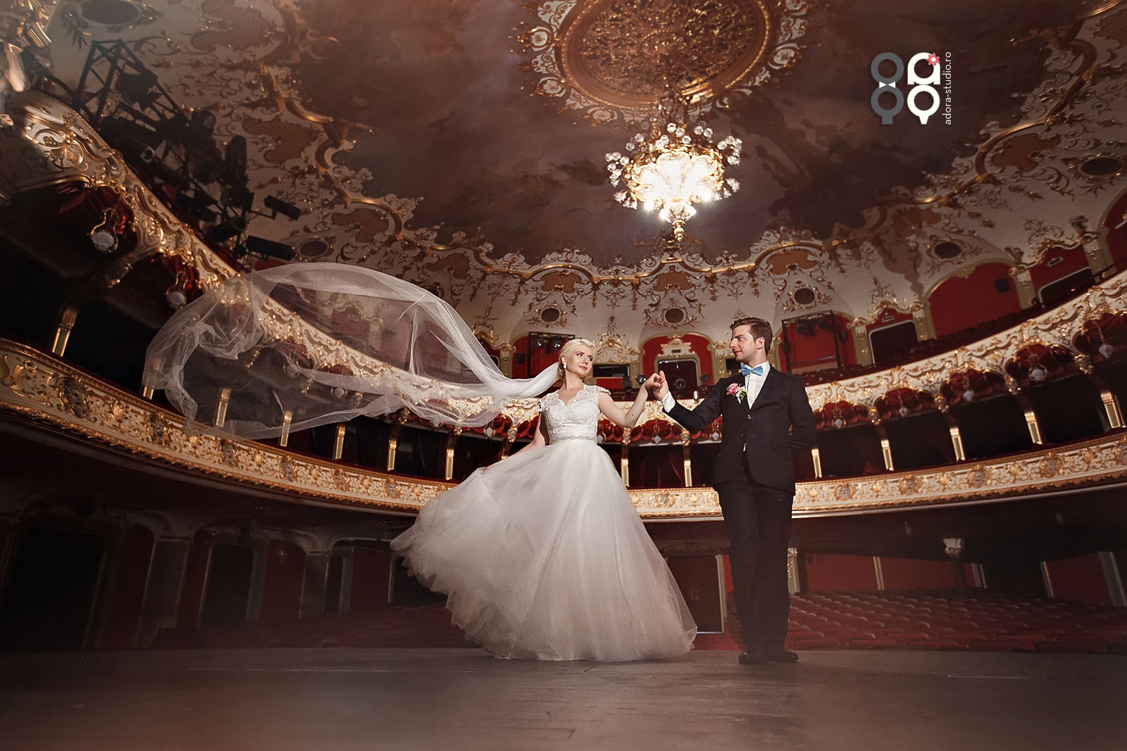 fotografii nunta Teatrul Iasi