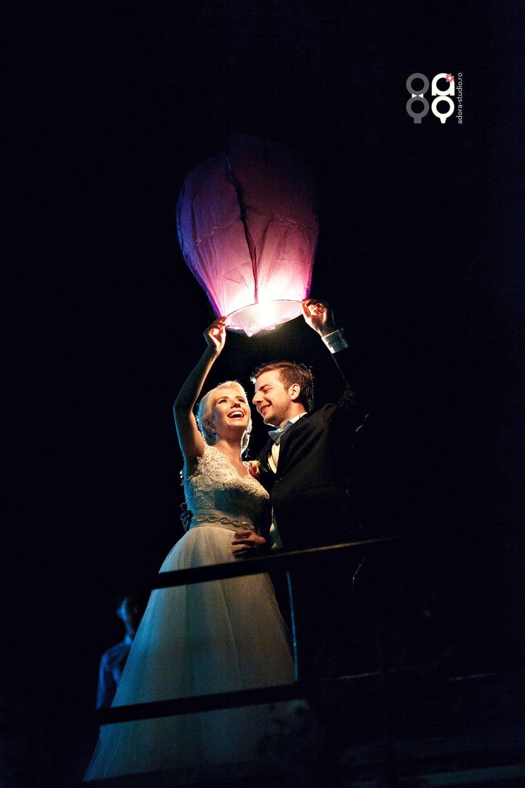 poze lampioane nunta