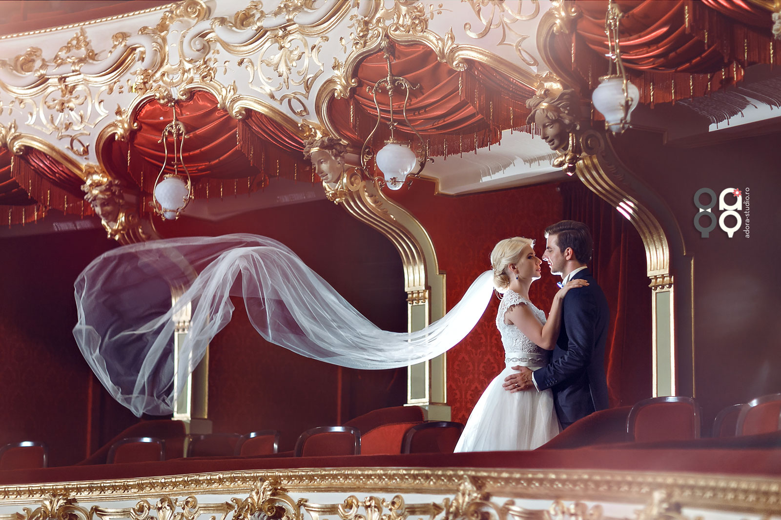 sedinta foto nunta teatrul national iasi