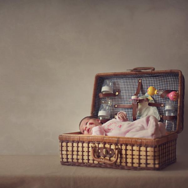 Fotografie nou-nascut: Andra, 10 zile