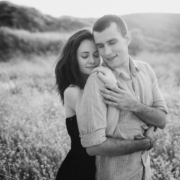 Giorgiana si Ionut, sesiune foto de logodna in Corbu