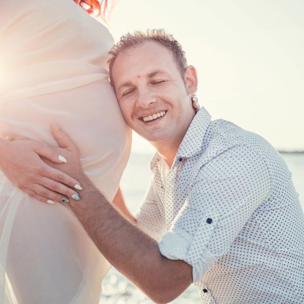 Cristina si Alex, fotografii de maternitare