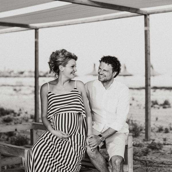Simona și Mihai - sesiune foto pe plajă