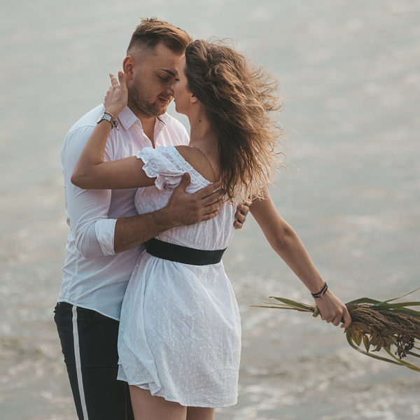 Cerere in casatorie pe plaja